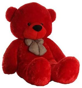 TIVEDA Red Teddy Bear - 90 cm , 1