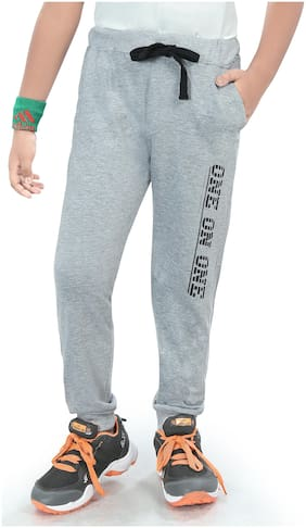 Todd N Teen Boy Cotton Track pants - Grey