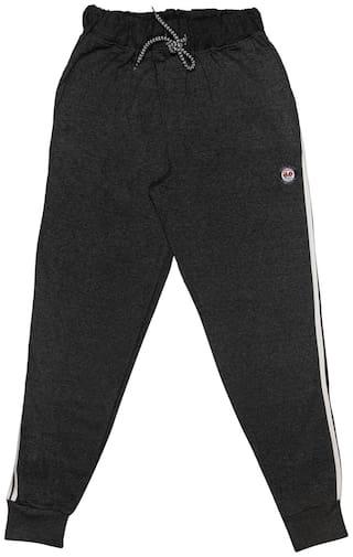 Todd N Teen Boy Cotton Track pants - Black