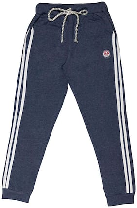 Todd N Teen Boys' Coton /Joggers (7-8 Years;Blue)