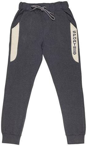 Todd N Teen Boy Cotton Track pants - Blue