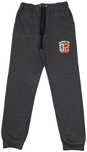 Todd N Teen Boys' Coton /Joggers (7-8 Years;Charcoal Grey)