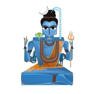 Buy Toiing Craftoi 3d Diy Indian Paper Craft Kit Toy Shiva Online At