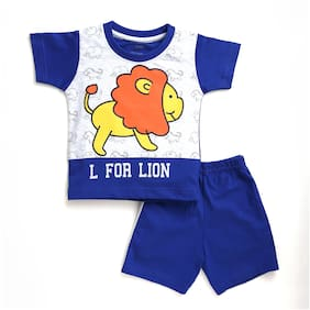 TOONYPORT Baby boy Top & bottom set - Blue