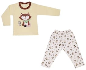 TOONYPORT Baby boy Top & bottom set - Cream