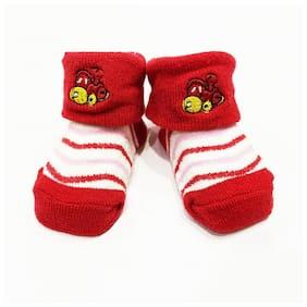 Toonyport Infant Designer Socks-Red