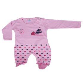 MABYN Baby Boy Cotton Printed Onesie - Pink