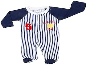 MABYN Baby boy Cotton Printed Onesie - Blue