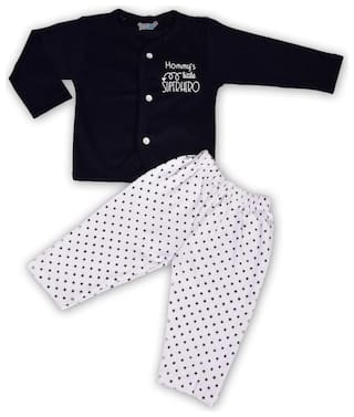 TOONYPORT Baby boy Top & bottom set - Blue & White