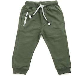 TOONYPORT Baby boy Cotton blend Printed Trousers - Green