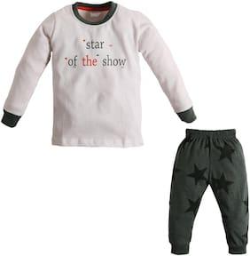 TOONYPORT Baby boy Top & bottom set - Green & White