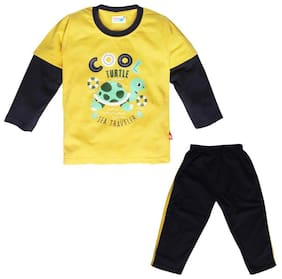 TOONYPORT Baby boy Top & bottom set - Yellow & Black