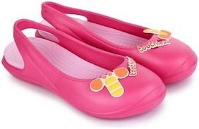 toothless Pink Girls Sandals