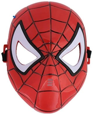 Tootpada Tootpado Super Hero Spiderman Camouflage Face Mask Cosplay For Party (Led Light)