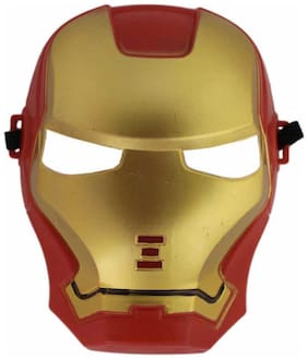Tootpado Super Hero Iron Man Camouflage Face Mask Cosplay For Party