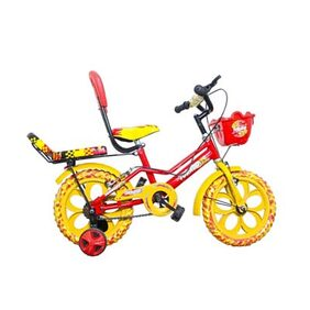 Torado Stitch Ds 14 Red And Yellow Bicycle - 14 Inch