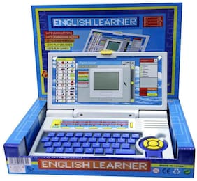 Toy English Learner Educational laptop Notebook, Computer with 22 Activities & Games including mouse for kids