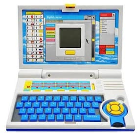 TOYS For Kids High Quality Educational English Learner Laptop With Mouse 20 Activities.