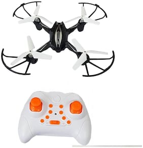 Toy & Joy HX 750 Drone 2.6 Ghz 6 Channel Remote Control Quadcopter for Kids (Without Camera) (Black)