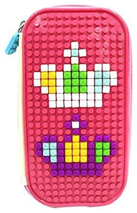 Toy4Pick Attractive Jigsaw Puzzle Featured Pen Bag for Kids/Teenagers ( Color May Vary )