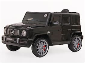 Toyhouse Benz AMG G63 V8 Rechargeble Battery Operated Ride-on Car with Remote for Kids ;Black