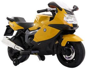 Toyhouse BMW Superbike 12V Rechargeable Battery Operated Ride-on for kids , Yellow
