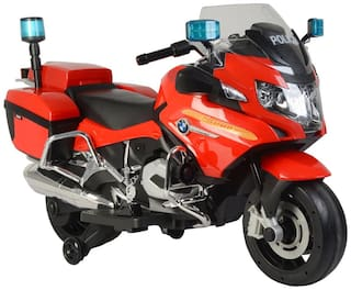 Buy Toyhouse Bmw R 1200 Rt Police Motorcycle 12v Red Online At Low