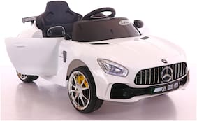 Toyhouse Futuristic Benzy AMG Rechargeable Battery Operated Ride-on car for Kids ( 2 to 5yrs );White