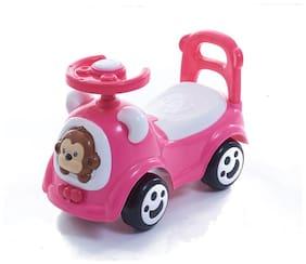 Toyhouse Happy Jagoo's Funky Push Car, Pink