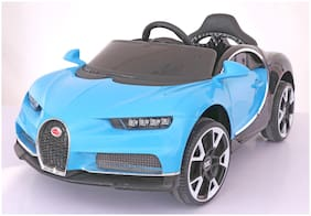 Toyhouse Majestic Veyron Rechargeable Battery Operated Ride-on car for kids(2 to 6 yrs), Blue