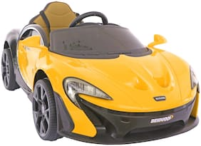 Toyhouse Majestic P1 GTR Rechargeable Battery Operated Ride-on Swing function car with Remote for kids