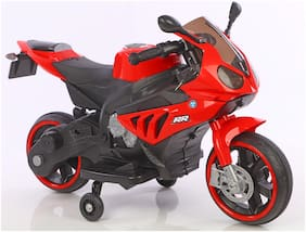 Toyhouse Mini BMW Bike with Rechargeable battery operated Ride-on for kids