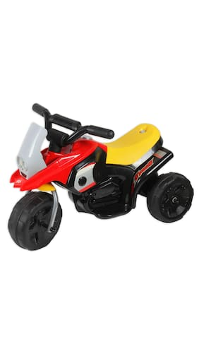 buy toyhouse bmw mini moto rechargeable battery operated ride on red online at low prices in. Black Bedroom Furniture Sets. Home Design Ideas
