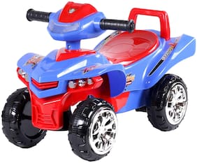 Toyhouse Racing Turbo Push ATV , Blue