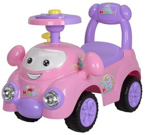 Toyhouse Ride on Bo Bo Activity Racer Push Car Pink
