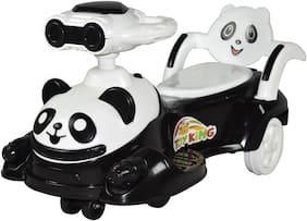 TOYKING CUTE PANDA NON-BATTERY MAGIC RIDE-ON CAR (WHITE)
