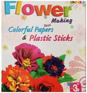 Toys Factory Awals Flower making puzzle