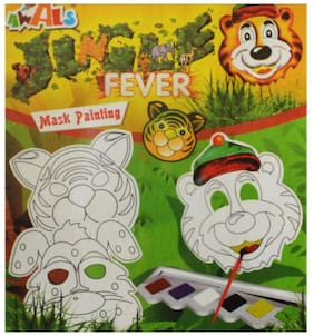 Toys Factory Awals Fever Mask Painting puzzle