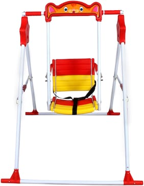 TOYSONS Indoor Outdoor Toy Table Stand Swing for Baby Infants Garden Jhula