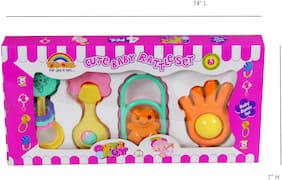 Toysons Rattle Set Box 4 Pcs