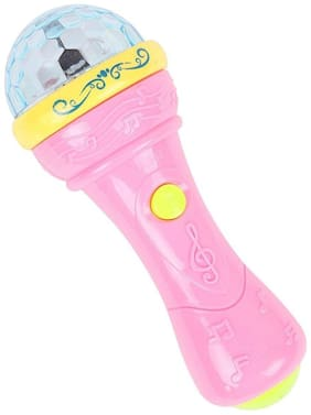 Toyvala 3D Lights Handheld Microphone Musical Toy