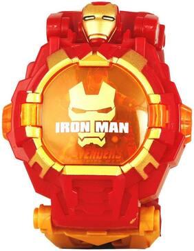 Toyvala Avengers Super Hero Digital Watch, Avenger Digital Watch - For Boys & Girls