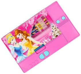 TOYVALA BIG SIZE Multipurpose Magnetic Pencil Box--Jumbo Pencil Box (Princess)