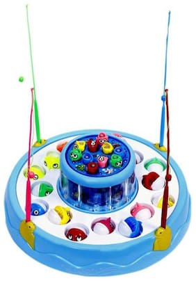 Toyvala Fishing With Playing Music Function GAME Multicolor