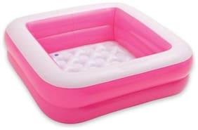 Toyvala Inflatable Baby Pool/ Bath Tub (Pink)