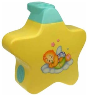 Toyvala Little Angel Baby Star Shaped Sleep Projector For Toddlers (Yellow)
