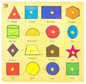 Toyvala Lots Of Shape & Color Puzzle
