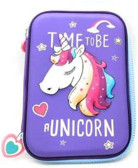 Toyvala Multipurpose Stylish Unicorn Print Large Capacity Pencil Case, Pen & Pencil Pouch Bag Case for Kids, Pouch for Girls