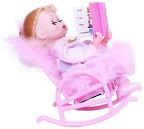 Toyvala Musical Book Reading Chair Doll For Kids