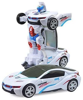 Toyvala Musical Robot car for Kids